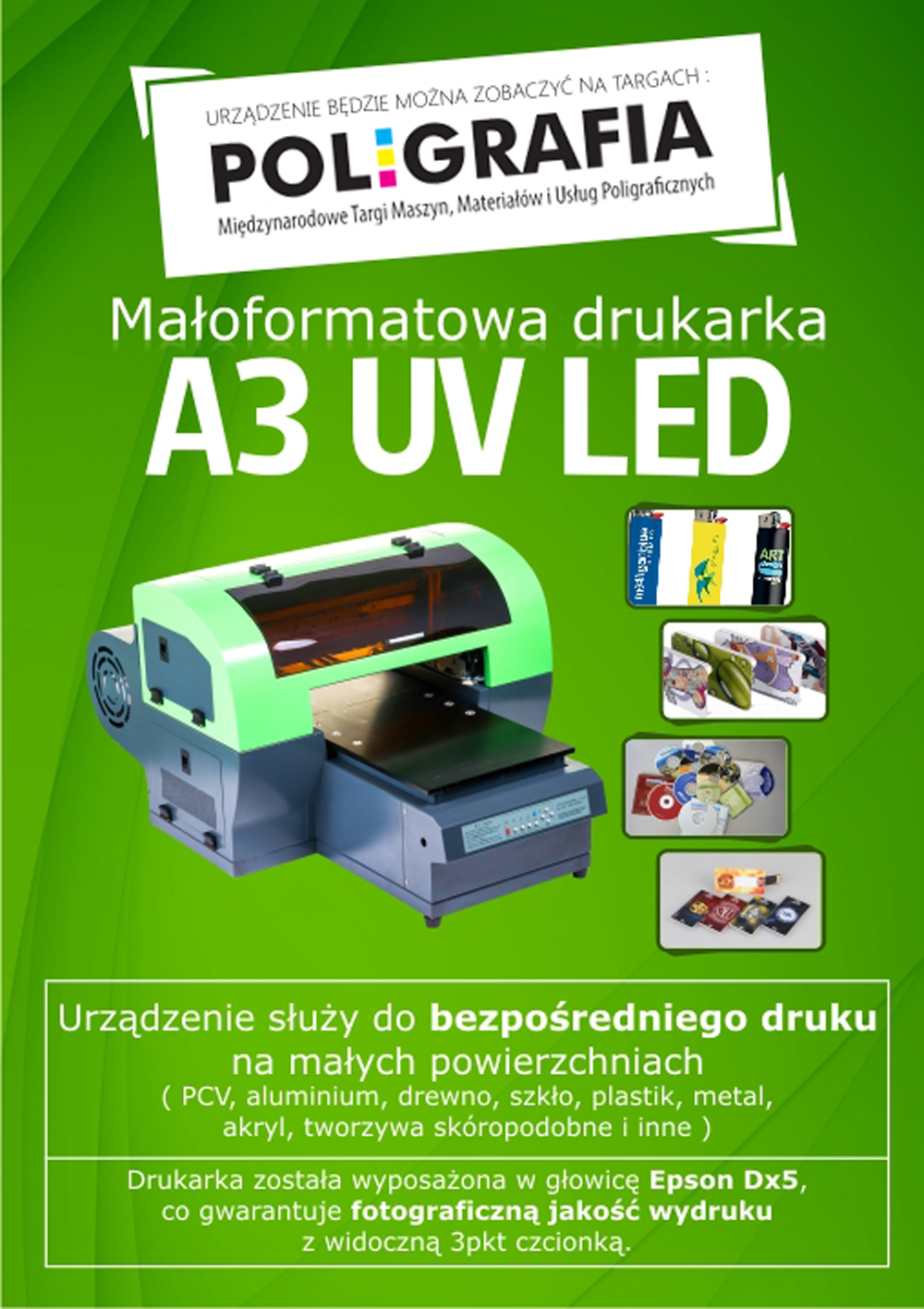 drukarka uv led